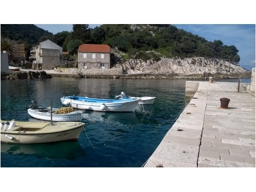 Ferienwohnungen �umbeli� - ostrov Mljet Kroatien