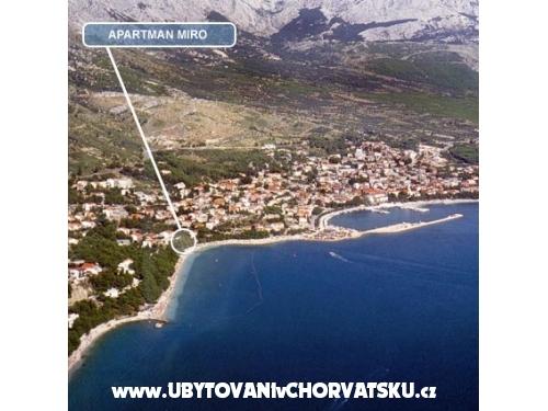 Apartmán Miro - Baška Voda Chorvátsko