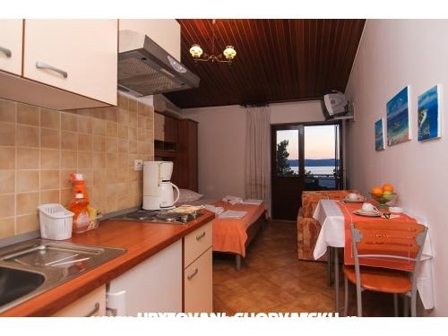 Apartmány dominovic-Mladinov - Baška Voda Chorvátsko