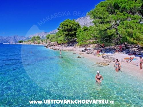 Apartmanok dominovic-Mladinov - Baška Voda Horvátország
