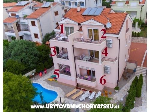 Apartmaji Jelena i Bojka - Baška Voda Hrvaška