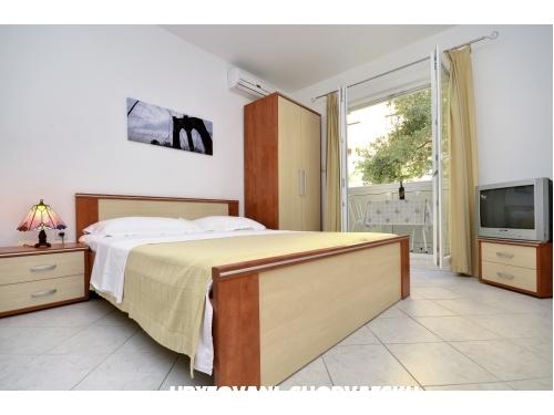Apartmány Jelić - Baška Voda Chorvátsko