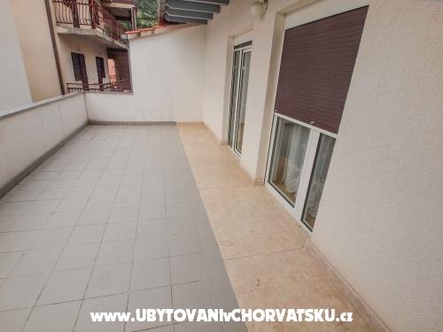 Apartmány Katić - Baška Voda Chorvatsko