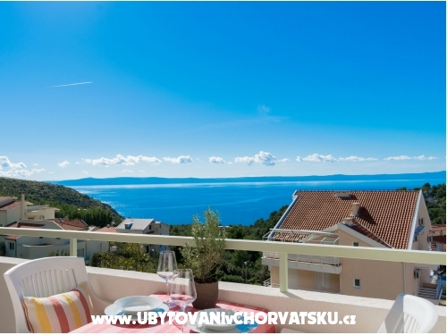 Apartmány Maslina - Baška Voda Chorvatsko