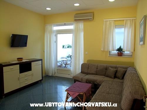 Apartmány Melinda - Baška Voda Chorvatsko