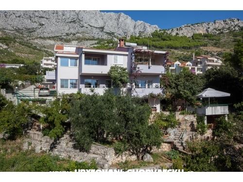 Apartmány Montana - Baška Voda Chorvatsko