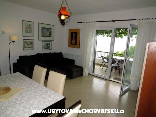 Apartmány Petričević - Baška Voda Chorvatsko