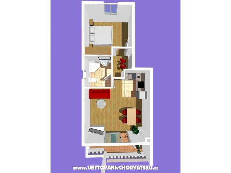Apartamenty Podest - Baška Voda - Baška Voda Chorwacja