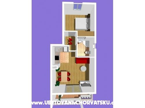 Appartements Podest - Baška Voda - Baška Voda Kroatien