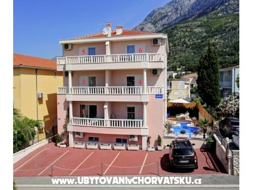 Apartmanok Podest - Baška Voda - Baška Voda Horvátország