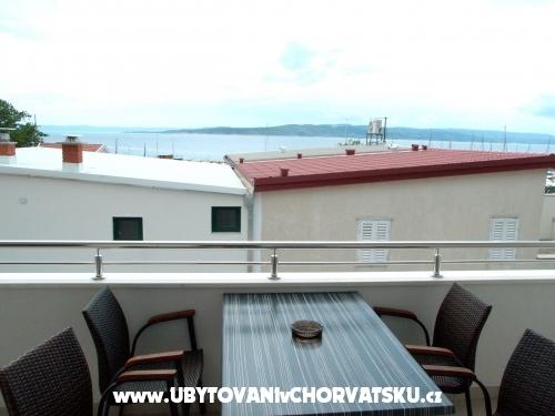 Apartmány Silvana - Baška Voda Chorvatsko