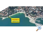 Apartmány Herceg - Baška Voda Chorvatsko