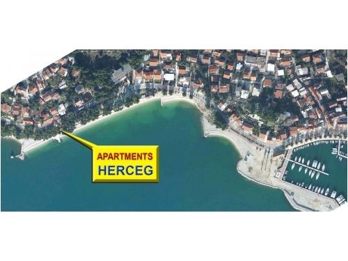 Ferienwohnungen Herceg - Baška Voda Kroatien