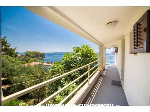 Apartmani with sea view - Baška Voda Hrvatska