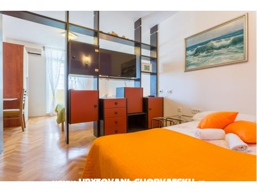 Asja Apartmány - Baška Voda Chorvatsko
