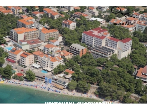 Asja Apartments - Baška Voda Croatia