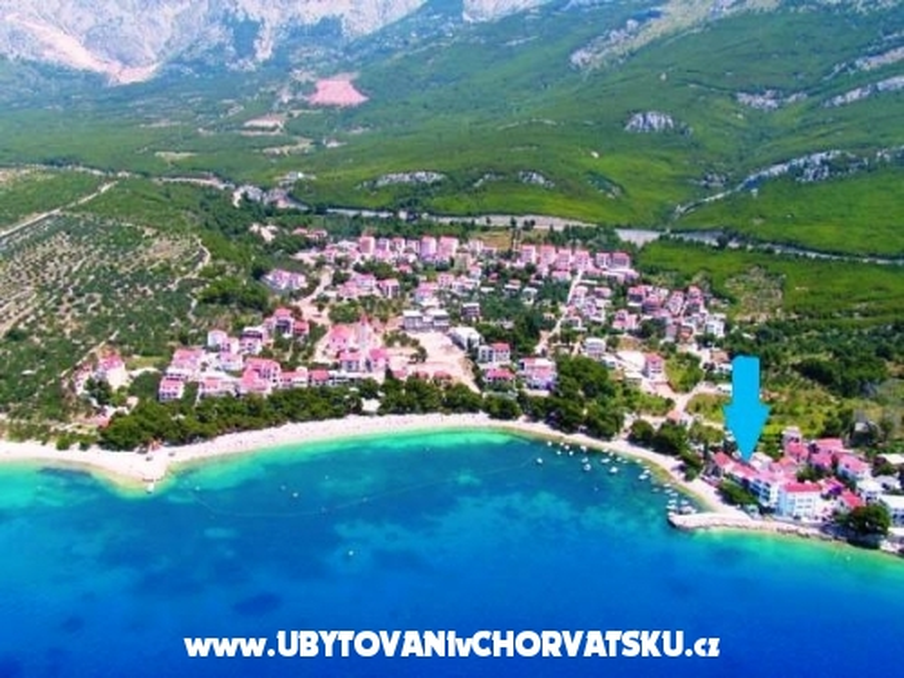 Vila Ivandic Promajna - Ba�ka Voda Kroatien