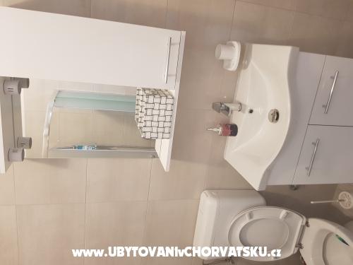 Apartmány Mileva - Bibinje Chorvatsko