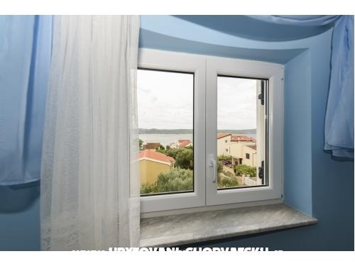 Apartmanok Golubić - Biograd Horvátország