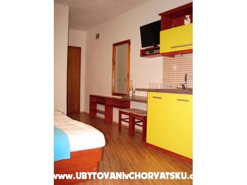 Apartmány BIKIN - Brela Chorvátsko