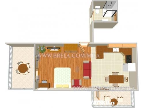 Apartmani Mila - Brela Hrvatska