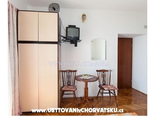 Apartmány Mila - Brela Chorvatsko