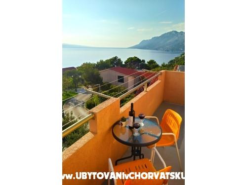 Apartmány Panorama - Brela Chorvatsko