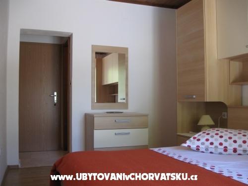 Appartementen Ursić Žarko - Brela Kroatië