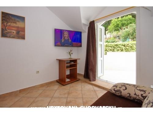 Apartmanok Villa Porat - Brela Horvátország
