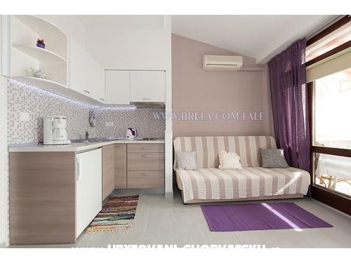 Apartmáns Lale - Brela Chorvatsko