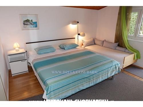 Apartmanok Vanja - Brela Horvátország