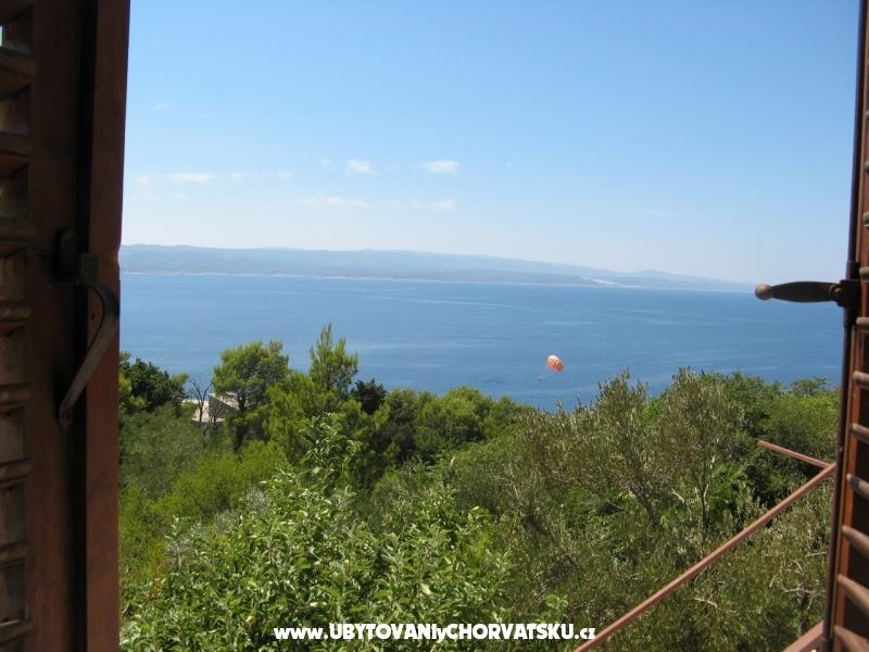 Apartmanok Kiwi - Brela Horvátország