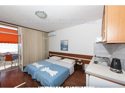 Studio apartments Rozalija - Brela Croatia