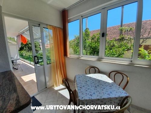 Apartmány Danijel - Brela Chorvátsko
