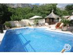 Stone Brela- swimming pool, grill accommodatie Kroati�