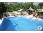 Stone Brela- swimming pool, grill Croatia Hrvatska