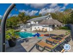 Crikvenica  Villa MANTA 2x app.+Heated pool