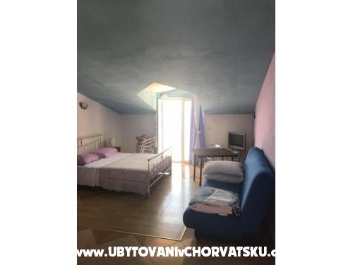 Apartmány Ruzina - Drvenik Chorvatsko