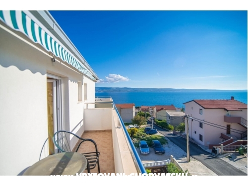 Apartmány with sea view Cihorich - Dugi Rat Chorvatsko