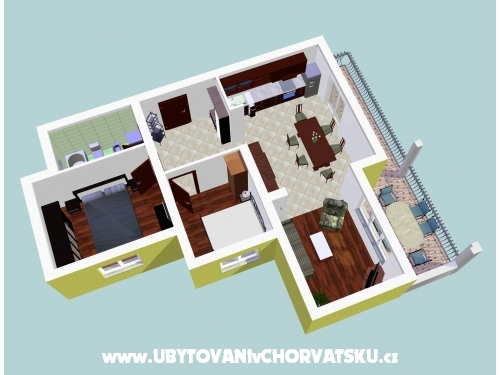 Vila Lucija - Dugi Rat Horvátország