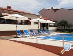 Apartments Rudez with swimming pool
