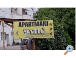 Appartements Matic - Sv. Filip i Jakov Kroatien