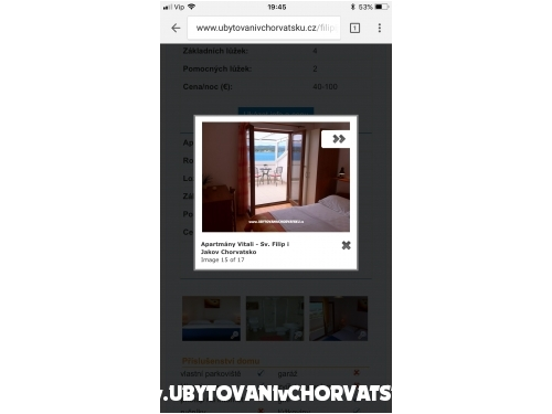 Apartments Vitali - Sv. Filip i Jakov Croatia