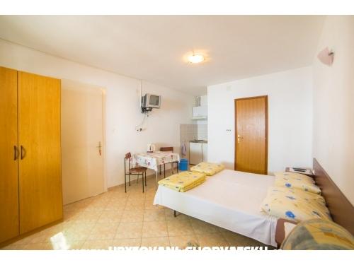Apartmány Mira - Gradac – Podaca Chorvatsko
