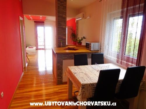 Apartmány Nika - Gradac – Podaca Chorvatsko