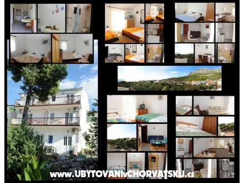 Apartmány Prlenda - Gradac – Podaca Chorvatsko