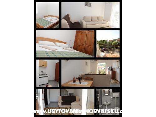 Apartmanok Prlenda - Gradac – Podaca Horvátország