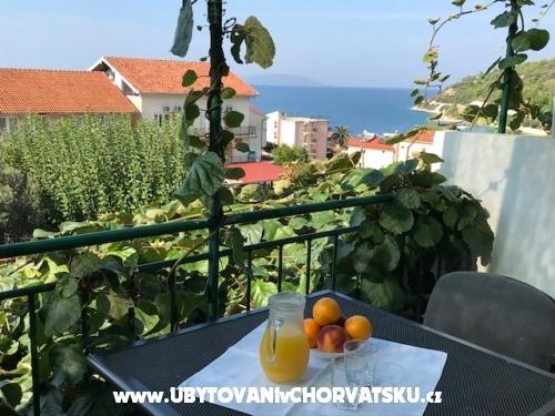 Apartmány Stula - Gradac – Podaca Chorvatsko