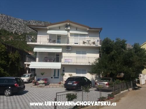 Apartmány Vesna - Gradac – Podaca Chorvátsko