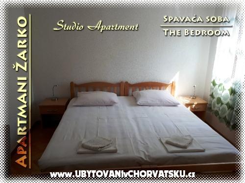 Apartamenty Žarko - Gradac – Podaca Chorwacja